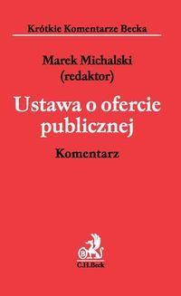 Ebook Ustawa o ofercie publicznej. Komentarz pdf