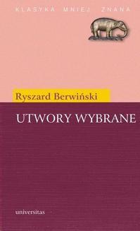 Chomikuj, ebook online Utwory wybrane. Ryszard Berwiński