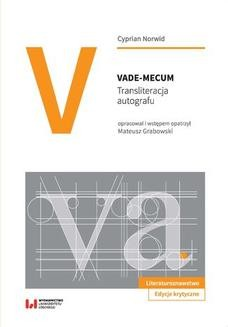 Chomikuj, ebook online Vade-mecum. Transliteracja autografu. Cyprian Norwid