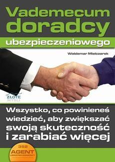 Chomikuj, ebook online Vademecum doradcy ubezpieczeniowego. Waldemar Mielczarek
