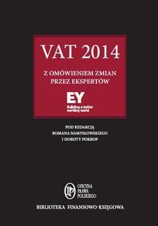 Chomikuj, ebook online VAT 2014 z omówieniem ekspertów EY. eksperci kancelarii EY