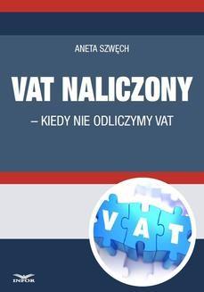 Chomikuj, ebook online VAT naliczony. Aneta Szwęch