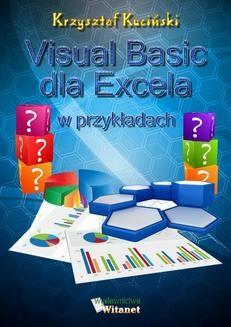 Chomikuj, ebook online Visual Basic dla Excela w przykładach. Krzysztof Kuciński