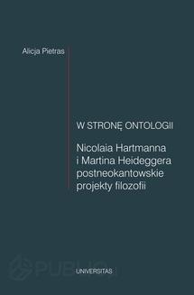 Chomikuj, ebook online W stronę ontologii. Alicja Pietras