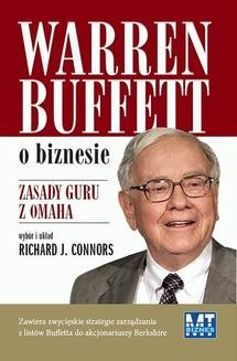 Chomikuj, ebook online Warren Buffet o biznesie. Richard J. Connors