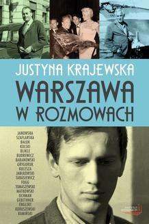 Chomikuj, ebook online Warszawa w rozmowach. Justyna Krajewska