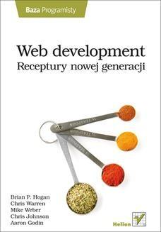 Ebook Web development. Receptury nowej generacji pdf