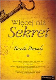 Chomikuj, ebook online Więcej niż Sekret. Brenda Barnaby