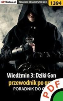 Ebook Wiedźmin 3: Dziki Gon. Przewodnik po grze. Poradnik do gry pdf
