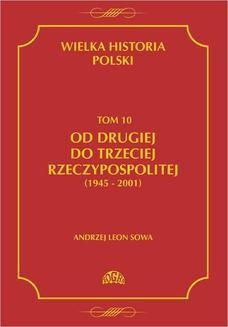Ebook Wielka historia Polski Tom 10 Od drugiej do trzeciej Rzeczypospolitej (1945 – 2001) pdf