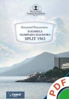 Ebook Wielka księga olimpiad szachowych. II Kobieca Olimpiada Szachowa. Split 1963 pdf
