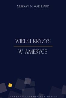 Ebook Wielki Kryzys w Ameryce pdf