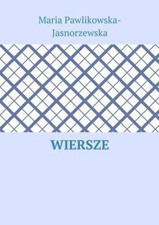 Chomikuj, ebook online Wiersze. Maria Jasnorzewska