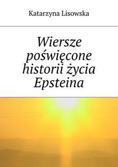 Ebook Wiersze poświęcone historii życia Epsteina pdf