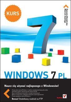 Chomikuj, ebook online Windows 7 PL. Kurs. Danuta Mendrala