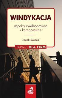 Chomikuj, pobierz ebook online Windykacja. Aspekty cywilnoprawne i karnoprawne. dr Jacek Świeca