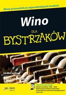Ebook Wino dla bystrzaków pdf