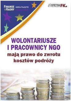 Ebook Wolontariusze i pracownicy NGO mają prawo do zwrotu kosztów podróży pdf