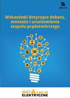 Chomikuj, ebook online Wskazówki dotyczące doboru, montażu i uruchomienia zespołu prądotwórczego. Opracowanie zbiorowe