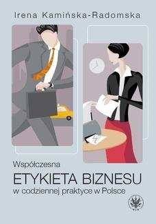 Ebook Współczesna etykieta biznesu w codziennej praktyce w Polsce pdf