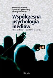 Chomikuj, ebook online Współczesna psychologia mediów. Praca zbiorowa