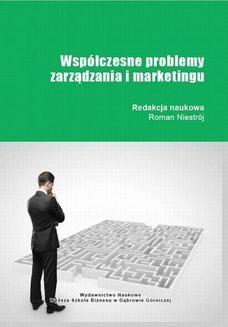 Chomikuj, ebook online Współczesne problemy zarządzania i marketingu. Roman Niestrój