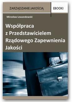Chomikuj, ebook online Współpraca z Przedstawicielem Rządowego Zapewnienia Jakości. Mirosław Lewandowski