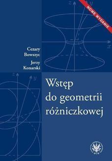 Ebook Wstęp do geometrii różniczkowej pdf