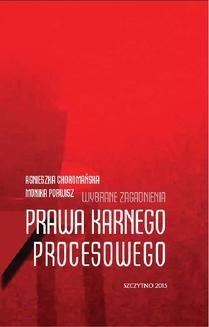 Ebook Wybrane zagadnienia prawa karnego procesowego pdf