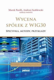 Ebook Wycena spółek z WIG 30 pdf