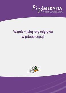 Chomikuj, ebook online Wzrok – jaką rolę odgrywa w priopercepcji. Jacek Soboń