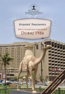 Ebook XXVII Olimpiada Szachowa – Dubaj 1986 pdf