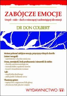 Chomikuj, ebook online Zabójcze emocje. Don Colbert