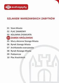 Chomikuj, ebook online Zamek Królewski. Szlakiem warszawskich zabytków. Ewa Chęć