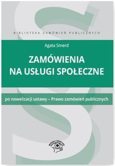 Ebook Zamówienia na usługi społeczne pdf