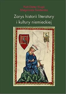 Chomikuj, ebook online Zarys historii literatury i kultury niemieckiej. Rolf-Dieter Kluge