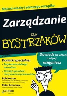 Chomikuj, ebook online Zarządzanie dla bystrzaków. Wydanie II. Bob Nelson