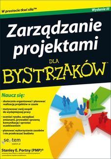 Chomikuj, ebook online Zarządzanie projektami dla bystrzaków. Stanley E. Portny