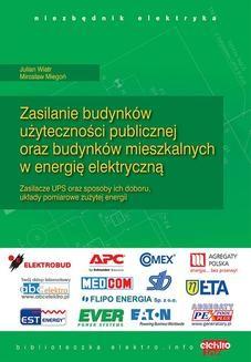 Chomikuj, ebook online Zasilanie budynków użyteczności publicznej oraz budynków mieszkalnych w energię elektryczną. Część 2. Mirosław Miegoń