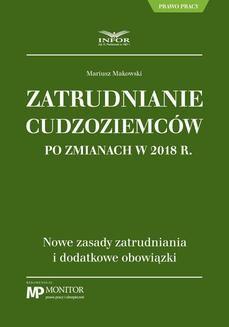 Chomikuj, ebook online Zatrudnianie cudzoziemców po zmianach w 2018 r.. Mariusz Makowski