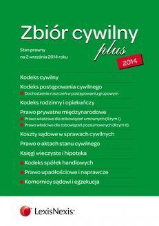 Chomikuj, ebook online Zbiór cywilny PLUS 2014. Wydanie 3. Opracowanie zbiorowe