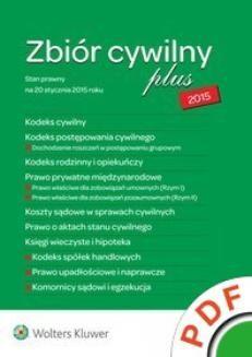 Ebook Zbiór cywilny plus 2015 pdf