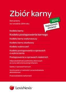Ebook Zbiór karny 2014. Wydanie 4 pdf