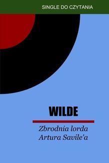 Chomikuj, ebook online Zbrodnia lorda Artura Savile a. Oscar Wilde