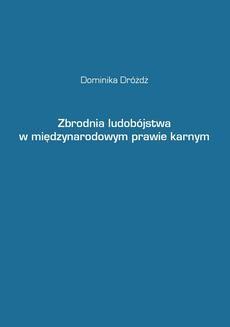 Ebook Zbrodnia ludobójstwa w międzynarodowym prawie karnym pdf