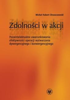 Chomikuj, ebook online Zdolności w akcji. Michał Hubert Chruszczewski