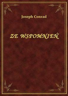 Chomikuj, pobierz ebook online Ze Wspomnień. Joseph Conrad