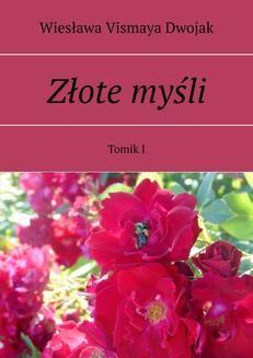 Ebook Złote myśli. Tomik I pdf
