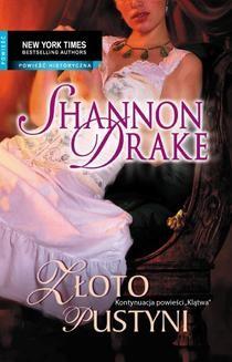 Chomikuj, ebook online Złoto pustyni. Shannon Drake