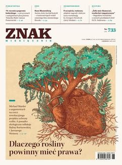 Chomikuj, ebook online ZNAK Miesięcznik nr 733: Dlaczego rośliny powinny mieć prawa?. autor zbiorowy
